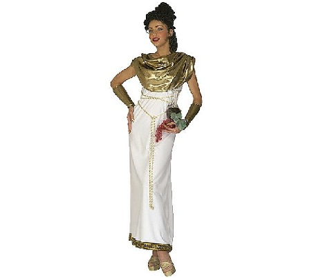 griega largo dorado