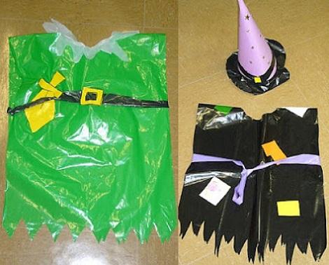 disfraces caseros bolsas robin hood