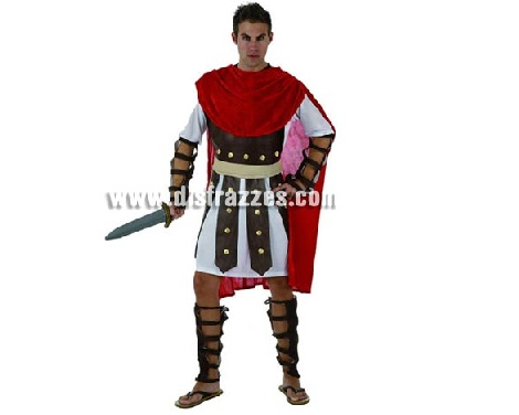 disfraces de romanos baratos gladiador
