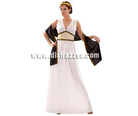 disfraces griegos mujer dorado