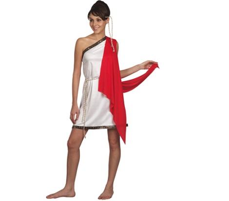 disfraz romana corto
