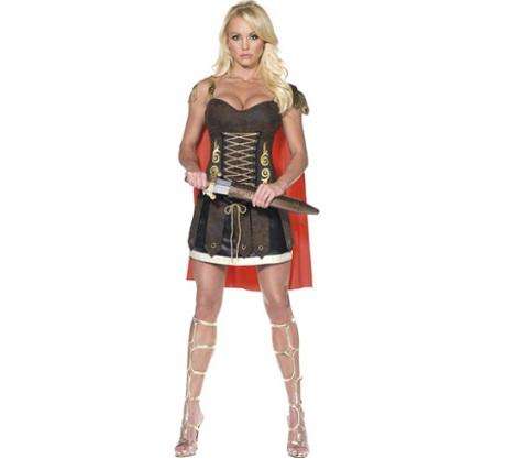 disfraz romana guerrera