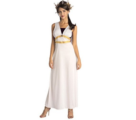disfraz romana largo