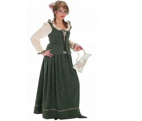 trajes medievales mujer aguadora