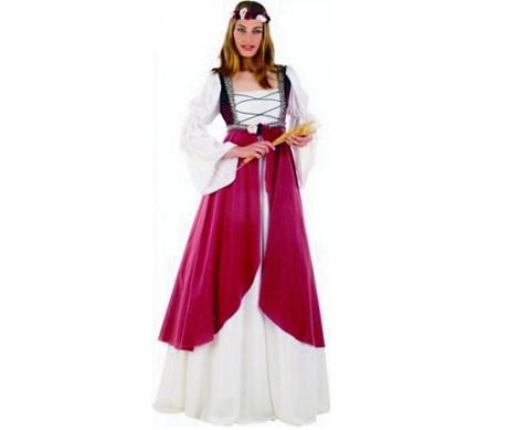 trajes medievales mujer clarisa