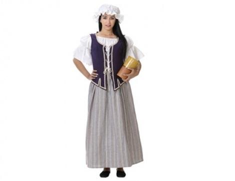 trajes medievales mujer tabernera