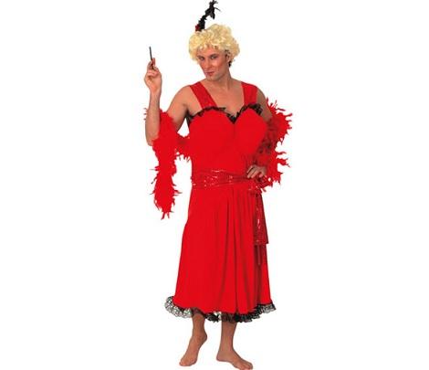 disfraces carnaval baratos cabaretera