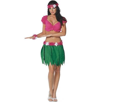 disfraces mujer sexys hawaiana