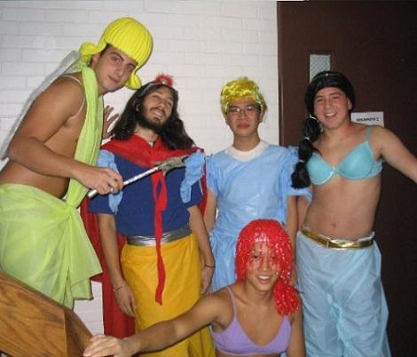 los mejores disfraces en grupo princesas disney