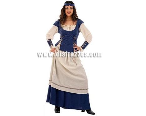 disfraces medievales baratos mujer campesina