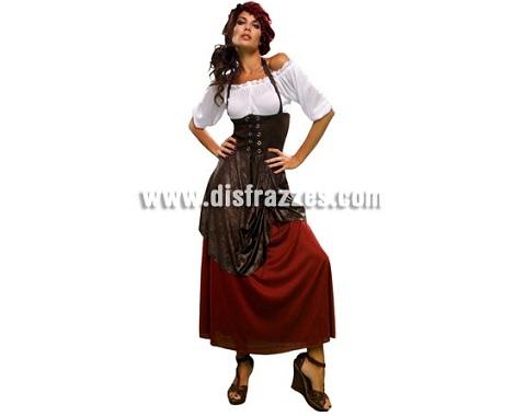 disfraces medievales baratos mujer mesonera