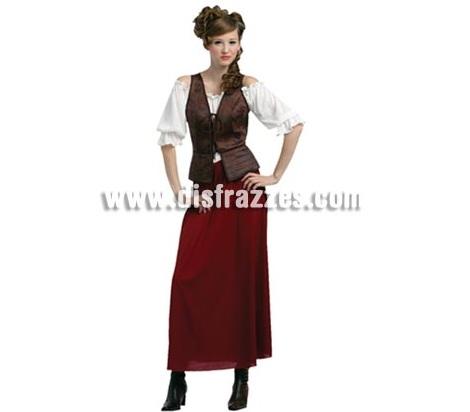 disfraces medievales baratos mujer tabernera