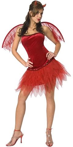 disfraces mujer helloween diablesa