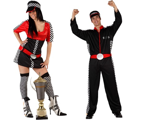 disfraces parejas formula1