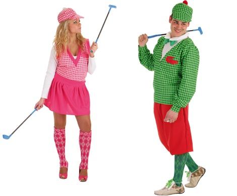 disfraces parejas golfistas