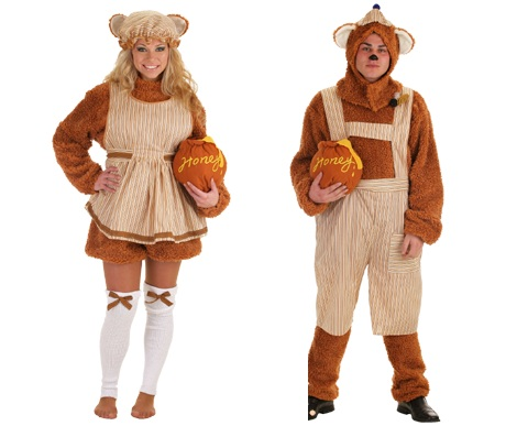 disfraces parejas osos