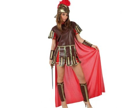 disfraces sexys baratos guerrera romana