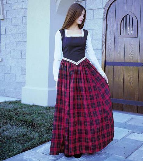Disfraz de dama