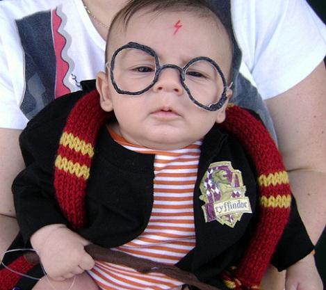 disfraces bebé originales harry potter