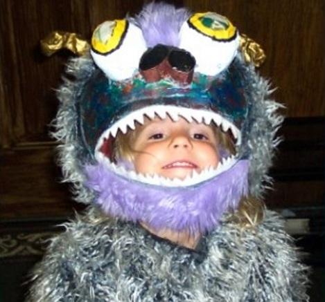 disfraces bebé originales monstruos