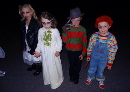 disfraces caseros halloween grupos peliculas