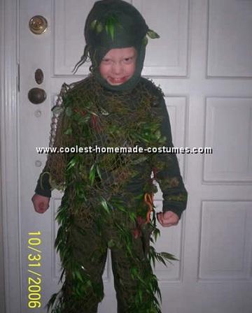 disfraces caseros halloween niños lago
