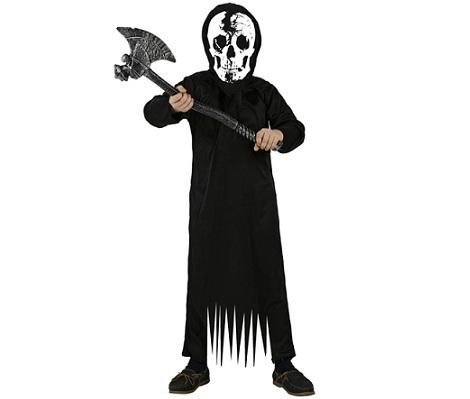 disfraces halloween ninos calavera