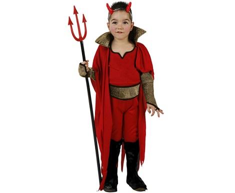 disfraces halloween ninos demonio