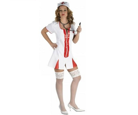 disfraces sexys baratos enfermera
