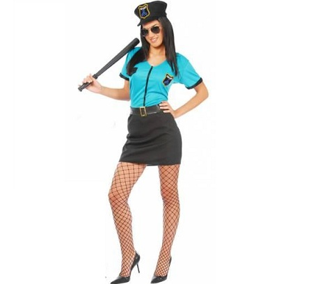 disfraces sexys baratos policia