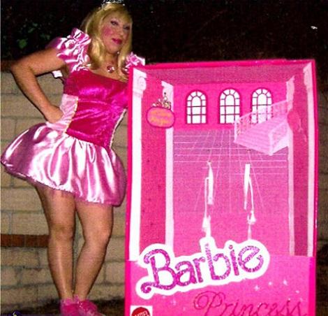 disfraz barbie casero princesa