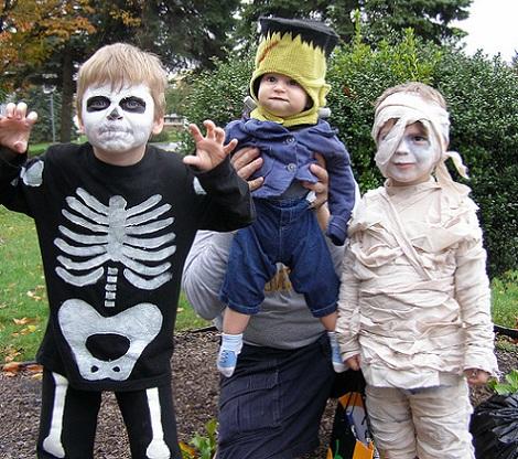 disfraz halloween niño casero
