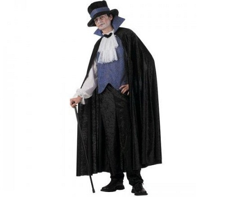 disfraz vampiro chistera