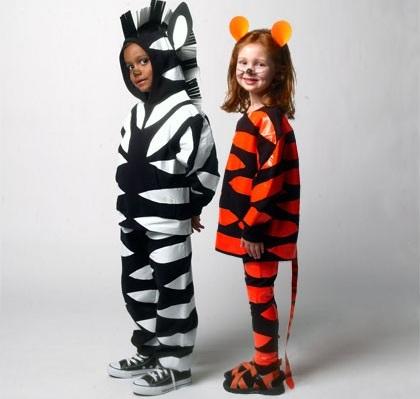 los mejores disfraces caseros niño animales