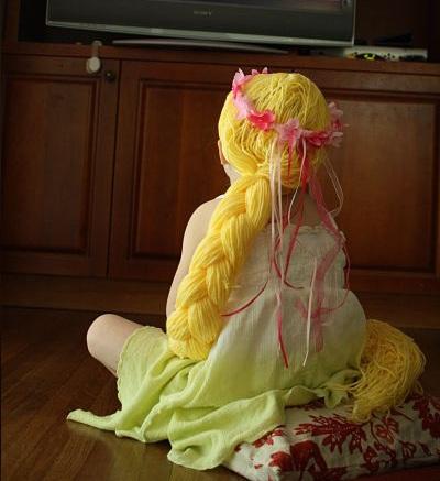 los mejores disfraces caseros niño rapunzel