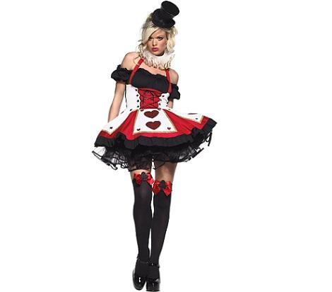 6 disfraces halloween sexys reina corazones