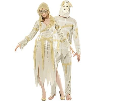 7 Disfraces de Halloween para parejas momia