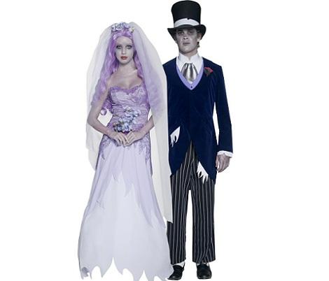 7 Disfraces de Halloween para parejas novios