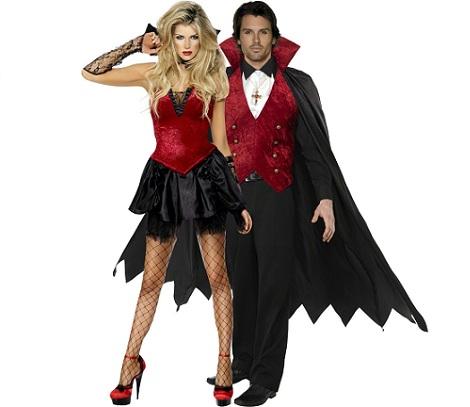 7 Disfraces de Halloween para parejas vampiros