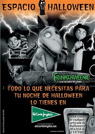 catalogo el corte ingles halloween 2012