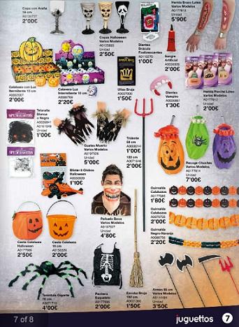 catálogo juguettos halloween 2012 accesorios