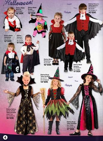 catálogo juguettos halloween 2012 niños