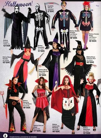 catálogo juguettos halloween 2012 vampiros