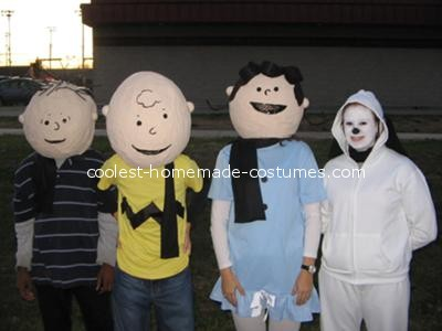 disfraces caseros adultos charlie brown