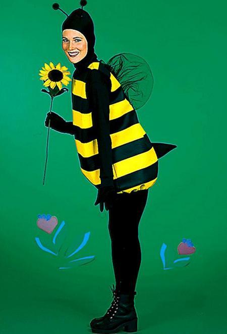 disfraces caseros halloween abeja