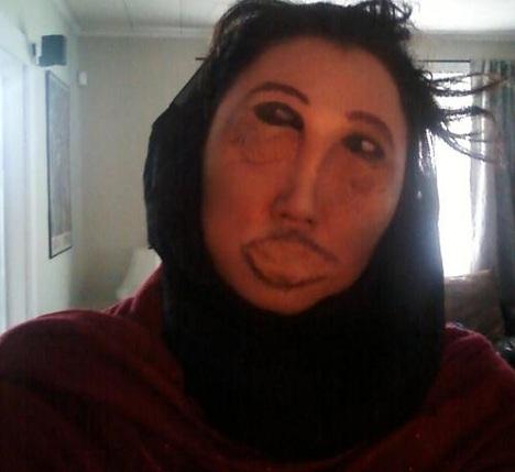 disfraces caseros halloween ecce homo dibujo
