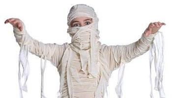 disfraces caseros halloween momia