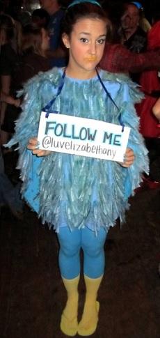 disfraces caseros halloween twitter