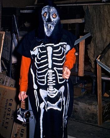 disfraces faciles halloween calavera