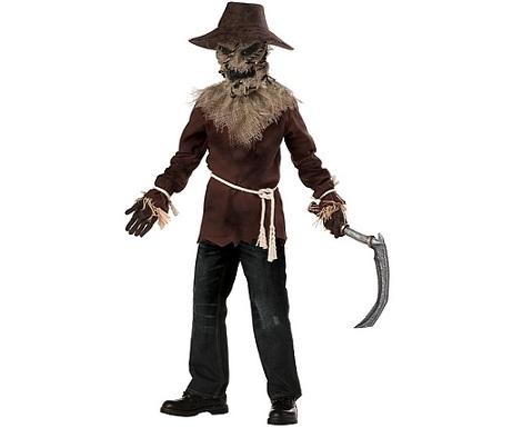 disfraces fáciles halloween espantapájaros